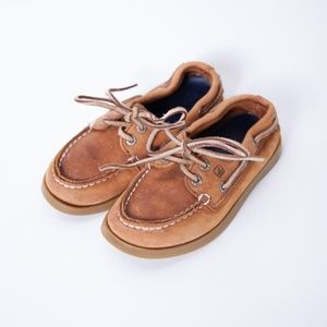 Sperry Top-Sider Leather Boat Shoe Size 9
